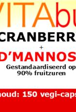 Vitabus Cranberry met D-Mannose (extra sterk)  150 vegetarische capsules