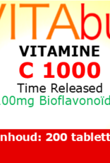 Vitabus Vitamine C 1000 Time Released 200 vegetarische tabletten