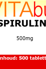 Vitabus Spirulina 500 mg 500 tabletten