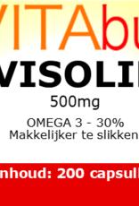 Vitabus Visolie 30% omega 3 500 mg kind 200 capsules