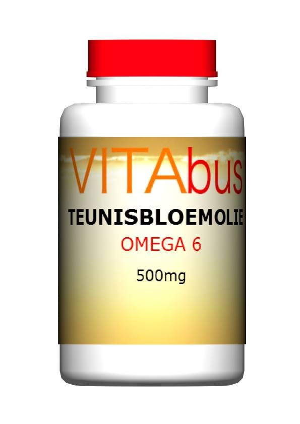 Teunisbloemolie, 180 capsules