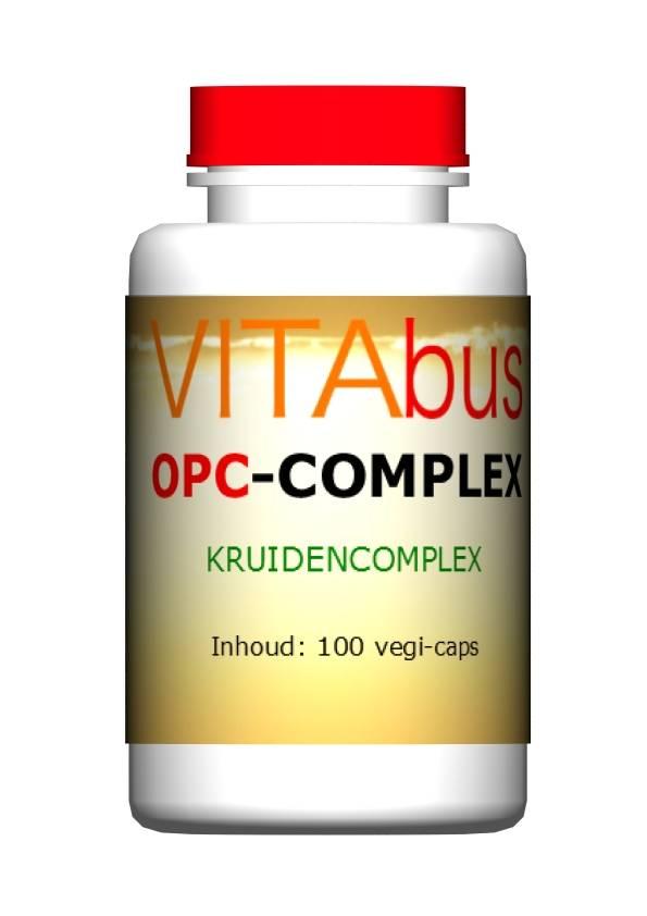 Vitabus OPC-Complex Kruidencomplex, 100  vegetarische capsules