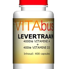 Vitabus Levertraan vitamine A + D3