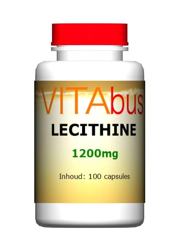 Vitabus Lecithine 1200 mg 100 capsules