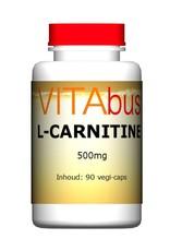 L-Carnitine 500 mg 90 capsules