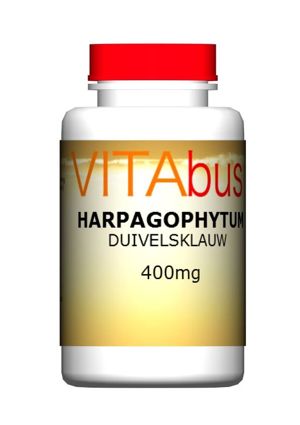 Duivelsklauw of Harpagophytum 120 of 240 capsules