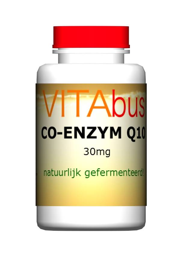 Vitabus Co-enzym Q10 30 mg 150 vegetarische capsules