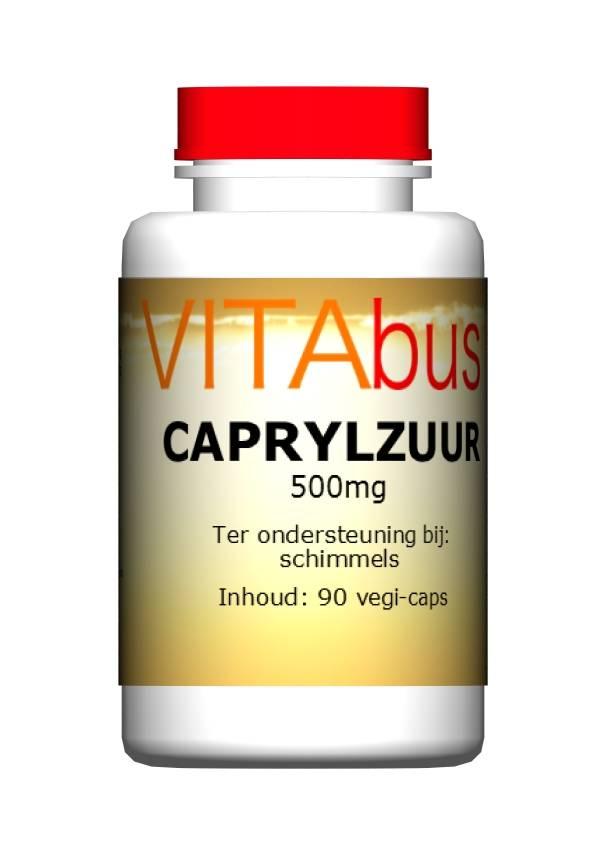 Vitabus Caprylzuur 180 vegetarische capsules