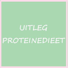 Uitleg proteinedieet
