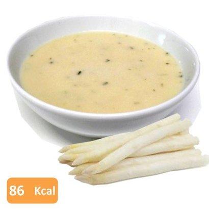 Eiwit aspergesoep crème