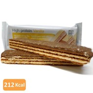 High protein vanilla wafer