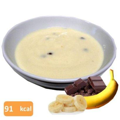 Proteïne pudding banana split