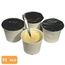 Pudding vanille (4 potjes kant-en-klaar)