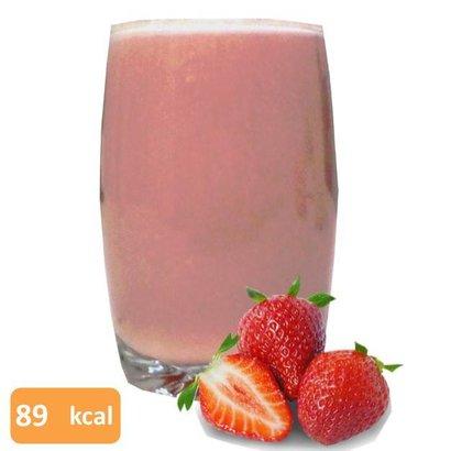 Proteine milkshake aardbei