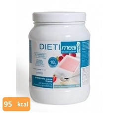 dietimeal pro Shake / pudding aardbei (pot 450g)