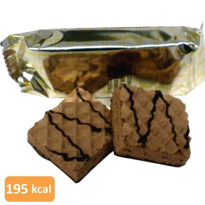 dietisnack Wafel chocolade