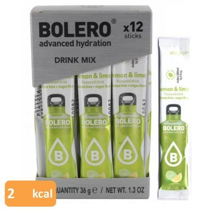 Bolero drink mix lemon & lime (12 sticks)