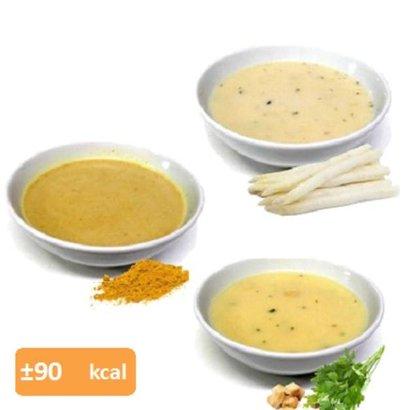 Proteine soep proefpakket (10 zakjes in 9 smaken)