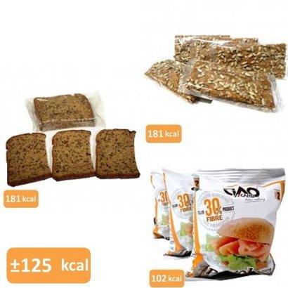 Brood & crackers proefpakket (13 maaltijden in 11 smaken)