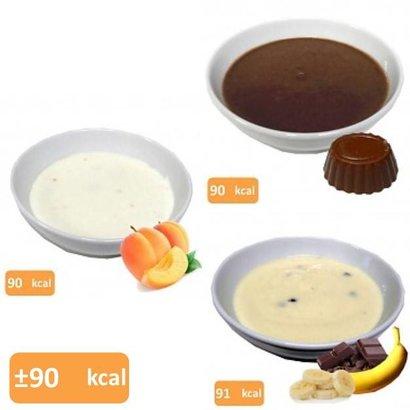 Proteine pudding proefpakket (10 zakjes in 9 smaken)