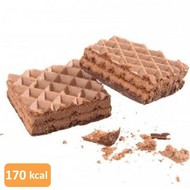 Low carb chocolade proteïne wafel (per 10 wafels)