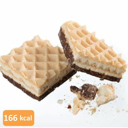 Low carb vanille proteïne wafel (per 10 wafels)