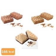 Wafel LC proefpakket (18 wafels in 3 smaken)