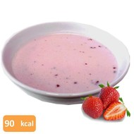 Proteïne pudding aardbei smaak