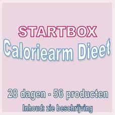 28 dagen startbox voor een caloriearm dieet. Weekprijs = 24,98 euro/week