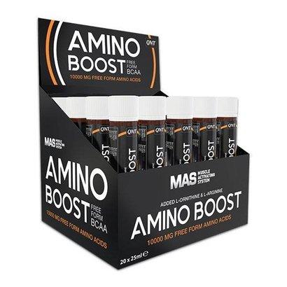 QNT amino boost shot (20x 25ml | VRIJE AMINOZUREN)