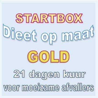 21 dagen dieetbox GOLD voor moeizame afvallers | Afslankbox op maat