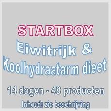 14 dagen startbox voor een eiwitrijk & koolhydraatarm dieet. Weekprijs = 49,95 euro