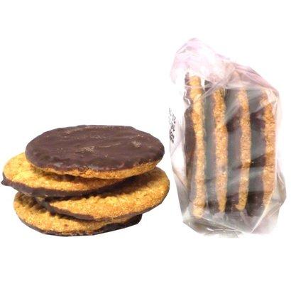 Proteine koek chocolade (low carb) | Verpakt per 4 stuks = 1 portie
