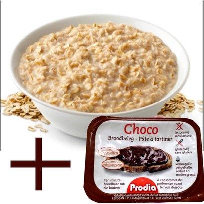 Proteïne havermout met echte choco