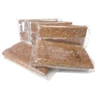 Luchtige proteine crackers meergranen (per 5 x 2 stuks)