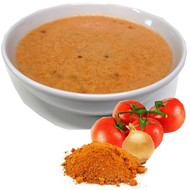 Proteine tomatensoep spicy