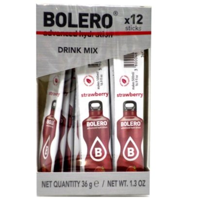 Bolero drink mix Aardbei (12 sticks)