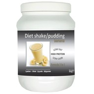 Pot shake/pudding banaan smaak