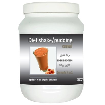Pot shake/pudding caramel smaak