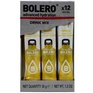Bolero drink mix Lemon (citroen smaak; 12 sticks)