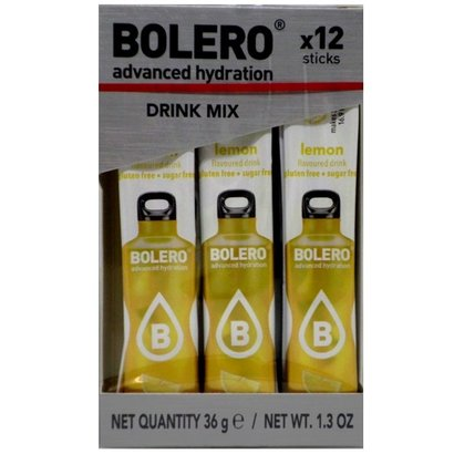 Bolero drink mix Lemon (citroen smaak; 12 sticks)