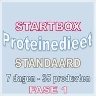 7 dagen FASE 1 startbox voor een standaard proteinedieet