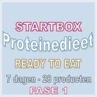 7 dagen FASE 1 startbox voor een READY TO EAT proteinedieet