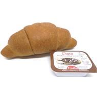 Proteïne croissant natuur met choco (ONGEZOET)