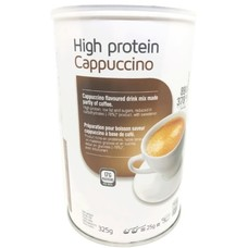 High protein cappuccino drink (warme cappuccino drank)