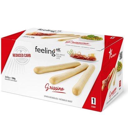 Feelink OK grissino oregano soepstengels low carb (= 3 portie's met elk 19g eiwit)