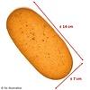 Proteïne amandel koek low carb (per 5 stuks)