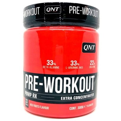 QNT Caffeïnevrije pre-workout BOOSTER pump RX