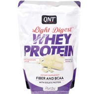 QNT purity light digest eiwitshakes white chocolate (per 500g)