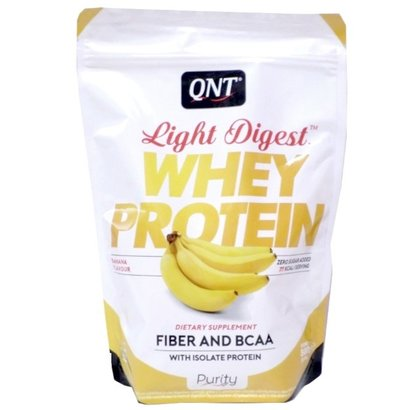 QNT purity light digest eiwitshakes banana (per 500g)